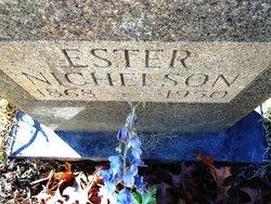 Ester Ann <I>Hamlin</I> Nicholson