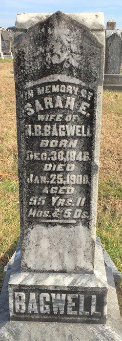 Sarah E. <I>Cogburn</I> Bagwell
