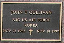 John T Cullivan