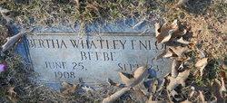 Bertha Marie <I>Whatley</I> Beebe