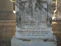 Philippina Rudolfina <I>Botha</I> Beckley