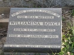 Williamina <I>Birnie</I> Boyce