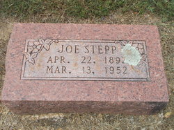 "Joseph ""Joe"" Stepp"