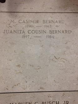 Juanita Marie Louise <I>Cousin</I> Bernard