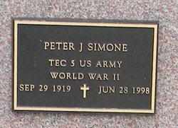 Peter J Simone