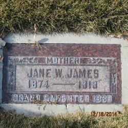 Jane <I>Wilson</I> James