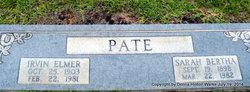 Irvin Elmer Pate