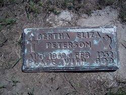 Bertha <I>Ellis</I> Peterson