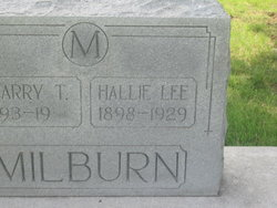 Hallie Lee <I>McCafferty</I> Milburn