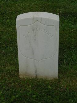 Pvt Samuel A Henshey