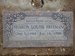 Sharon Louise <I>Foss</I> Freeman