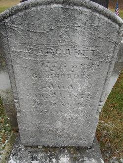 Margaret <I>Smith</I> Rhodes