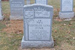 Gertrude Lena <I>Sklarek</I> Fink
