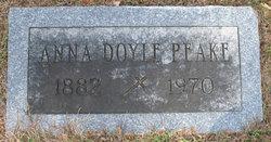 Anna <I>Doyle</I> Peake