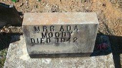 """Mrs Ada """"Addie"""" <I>Marks</I> Moody"""