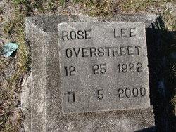 Rose Lee Overstreet