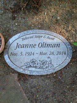 Jeanne Oltman