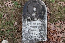 Priscilla S Threlfall