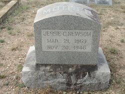 Jessie Claudine <I>Brown</I> Newsom