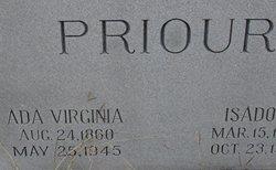 Ada Virginia <I>Guthrie</I> Priour