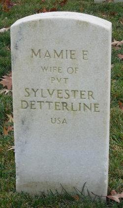 Mamie E Detterline
