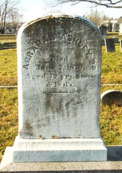 Capt Abraham Ashley, II