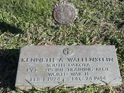 PVT Kenneth Arthur Wallenstein
