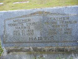 Henrietta Louise <I>Klein</I> Harris