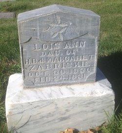 Lois Ann Zabriskie