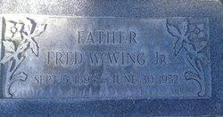 "Fredrick William ""Fred"" Wing, Jr"