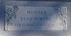Elva Miller <I>Johnson</I> Wing