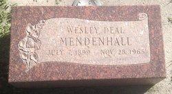 Wesley Deal Mendenhall