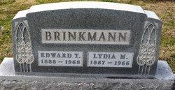 Lydia <I>Ellerbusch</I> Brinkmann