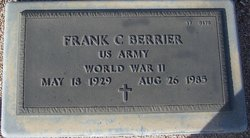Frank C Berrier