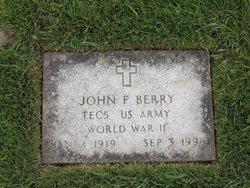 John F Berry
