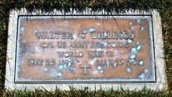 Walter C Billings