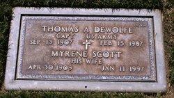 Thomas A Dewolfe