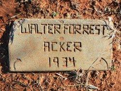 Walter Forrest Acker