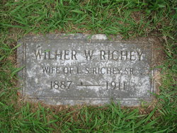 Wilhelmina W. <I>Williams</I> Richey