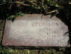 Emily <I>Blankenship</I> Etchison
