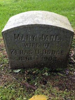 """Mary Jane """"May"""" <I>Jones</I> Dodge"""