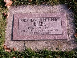 Dora Marguerite <I>Price</I> Beebe