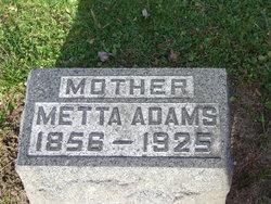 """LaMetta """"Metta"""" <I>Hinman</I> Adams"""