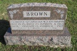 Carolina W <I>Nichols</I> Brown