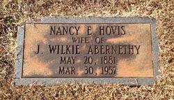"""Nancy Elizabeth """"Nannie"""" <I>Hovis</I> Abernethy"""