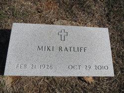 """Mrs Miki Chong Sim Woo """"Miki"""" <I>Woo</I> Ratliff"""