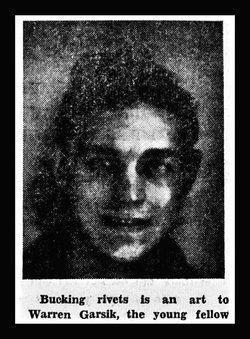 Warren Arthur Garsik