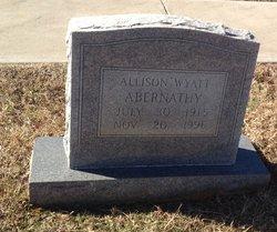 Allison Wyatt Abernathy