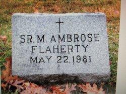 Sr Mary Ambrose Flaherty