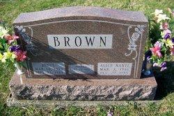 Alice <I>Nantz</I> Brown
